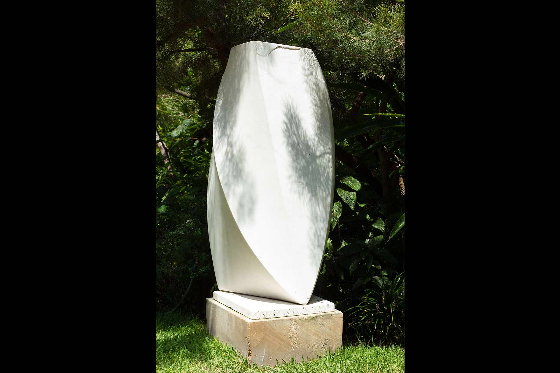 Wendy's Garden Marble Statue By Robert DuBourg