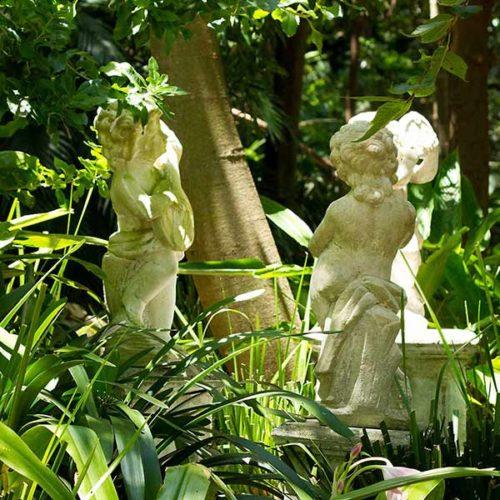 Wendy's Garden Musical Figurine Trio