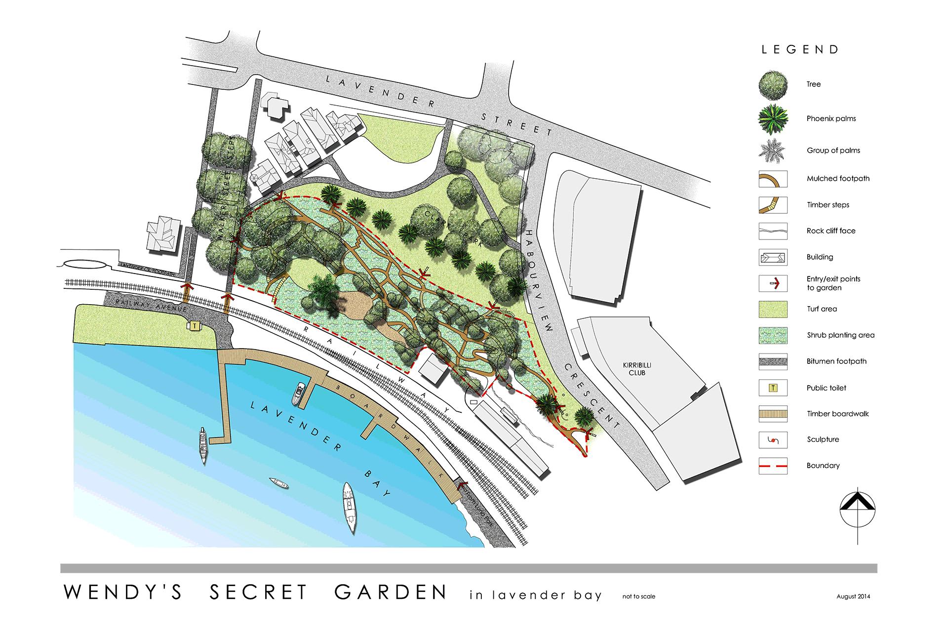 location wendy s secret garden