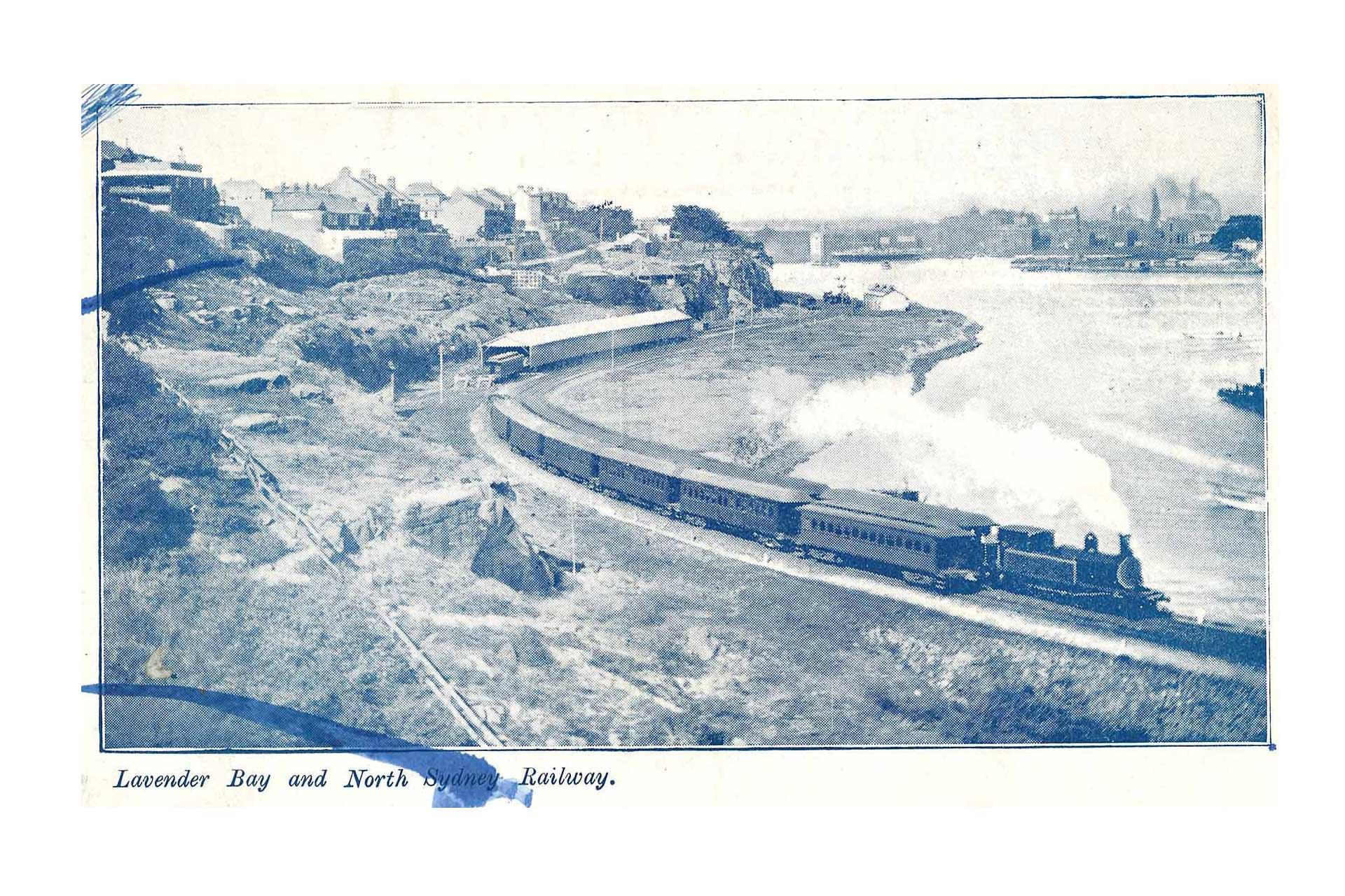 Wendy's Garden Lavender Bay Railway 1932
